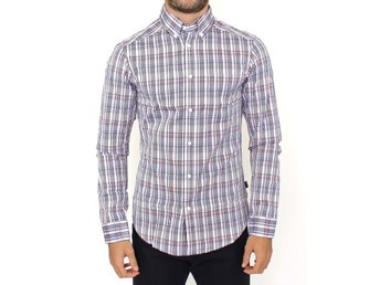 Cavalli - Multicolored checkered cotton shirt