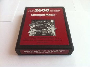 Atari 2600: Midnight Magic (Endast kassett!)