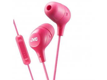 JVC Hörlur Marsmallow In-Ear Mic Rosa
