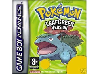 Pokemon Leaf Green - Gameboy Advance