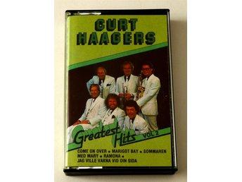 Curt Haagers Greatest Hits Vol 2 kassettband