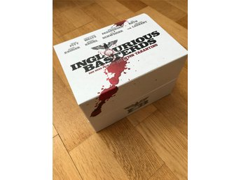 INGLORIOUS BASTERDS Limited edition Box set Quentin Tarantino