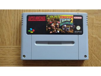 Super Nintendo/SNES: Donkey Kong Country 2 (EUR)