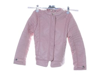 Zara Girls, Jacka, Strl: 116, Rosa, Skinnimitation