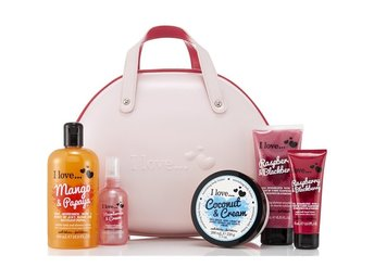 I Love Vanity Case mix Beauty Bag Collection Presentset