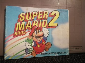Super Mario Bros 2 manual till NES - SCN