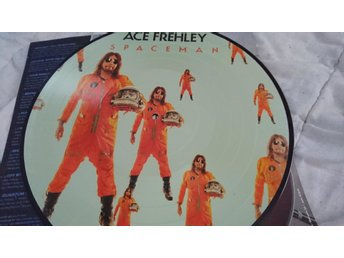 Kiss: Ace frehley, spaceman pic disc.helt ny!