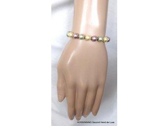 02b826e7b172 OCK! Armband elastiskt silver vit blå.. (348096998) ᐈ Herwinning på ...
