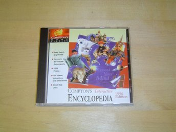 COMPTONS INTERACTIVE ENCYCLOPEDIA TILL PC CD-ROM *NYTT*