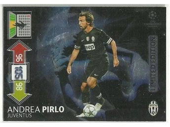 LIMITED EDITION - ANDREA PIRLO -CHAMPIONS LEAGUE 2012-2013