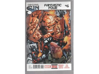 Fantastic Four #6 - Orginal Sin