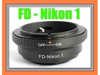Canon FD mount lens To mount Adapter J1 V1 Nikon 1 camera