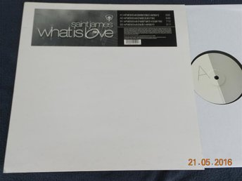 "SAINT JAMES - What is love, 12""  Stockholm Records 2002"