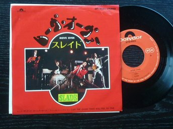 SLADE - Move over  Polydor Japan -73