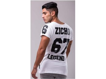 Zicho - Legend 67 White Tee [Storlek Small]