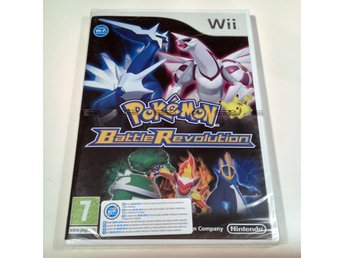 -NYTT- Pokémon Battle Revolution - Nintendo Wii - PAL UKV