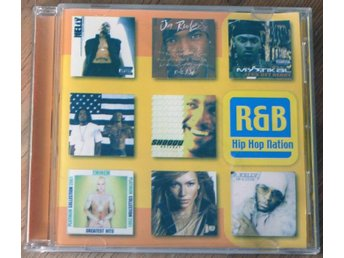 CD - R&B Hip Hop Nation - Stefani Eminem Gray Aguilera Janet