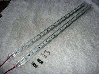 LED-belysning Ljusskena LED-list LED-profil 50 cm, 12V, 7 W - Kungsbacka - LED-belysning Ljusskena LED-list LED-profil 50 cm, 12V, 7 W - Kungsbacka