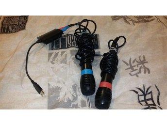 PS3 och PS2 - Singstar mickar - mikrofoner - Eslöv - PS3 och PS2 - Singstar mickar - mikrofoner - Eslöv