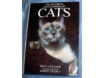 STOR katt bok CATS encyclopedia, B. Strader