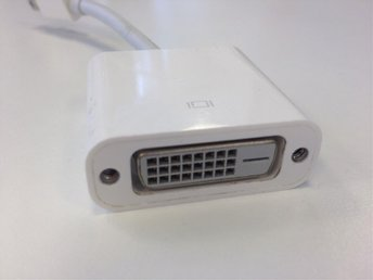 APPLE THUNDERBOLT / MINI DISPLAYPORT TO DVI-I ADAPTER