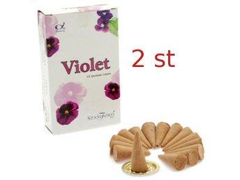 Rökelsekoner Stamford Viol (Violet) - 2 paket - Borås - Rökelsekoner Stamford Viol (Violet) - 2 paket - Borås