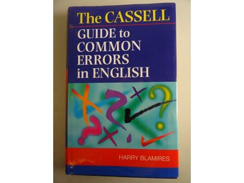 Guide to common errors in english: språk, engelska