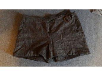 Shorts, ull, bruna, korta, h&m, 38 - Staffanstorp - Shorts, ull, bruna, korta, h&m, 38 - Staffanstorp