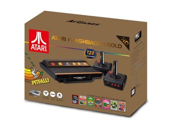 Atari Classic Game console 8 Gold HD