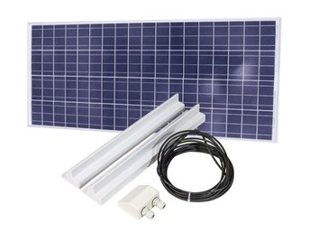 Solpanel 160W med solpanelkit 68cm