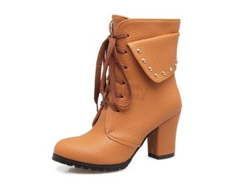 Dam Boots Boots Large Size 34-45 brown no fur 1 Size 39