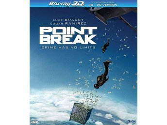 POINT BREAK. NY OCH INPLASTAD PÅ BLU-RAY 3D + 2D VERSION.