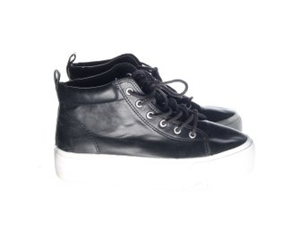 Divided by H&M, Sneakers, Strl: 38, Svart, Skinnimitation