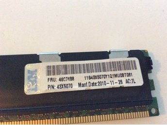 8 GB PC3-8500R Micron DDR3 Ram Minne