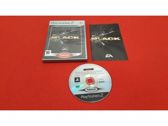 BLACK till Sony Playstation 2 PS2