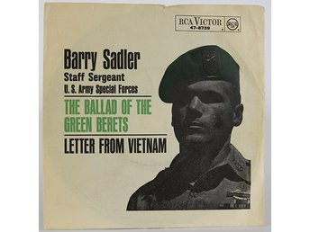 Barry Sadler - The Ballad of the green Berets 47-8739