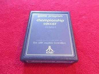 CHAMPIONSHIP SOCCER till Atari 2600 - Blomstermåla - CHAMPIONSHIP SOCCER till Atari 2600 - Blomstermåla