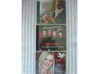 CD JUL-Sanna Nilsen Jul cd, Arvingarna Jul, Kenny Rogers JUl cd - Vällingby - CD JUL-Sanna Nilsen Jul cd, Arvingarna Jul, Kenny Rogers JUl cd - Vällingby