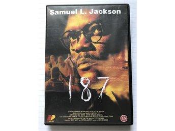 187 Samuel L. Jackson thriller dvd film - Anderslöv - 187 Samuel L. Jackson thriller dvd film - Anderslöv