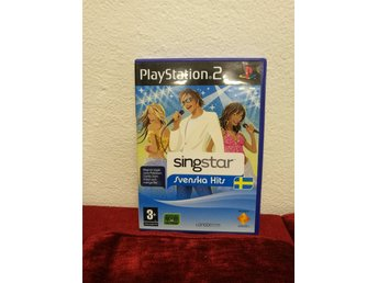 Playstation 2 Ps2  - Singstar Svenska hits - Pal