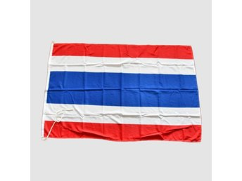 Authentic Nautical Flag / Thailand  - marina nationsflaggor #SigtunaMarin