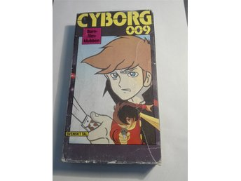 Cyborg 009 - avsnitt 17+18 - VHS - NM International nr. 3022
