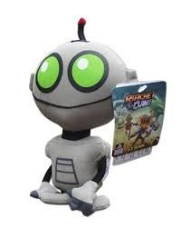 Medium Clank Plush - Ratchet & Clank - IGS