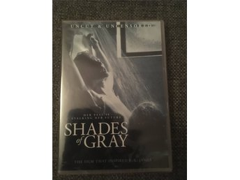 Shades of grey, erotisk thriller, uncut & uncensored, svensk text, inplastad