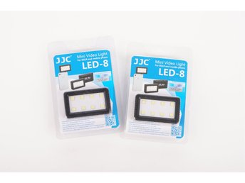 JJC Mini Videobelysning LED-8 NYA