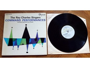 RAY CHARLES SINGERS  Command Performances Audiophile