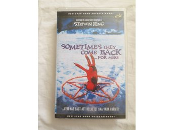 SOMETIMES THEY COME BACK...FOR MORE. VHS-film. Rysare. 1998. NEW STAR HOME ENT.