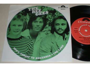 Bee Gees 45/PS Don´t forget to remember 1969 VG++