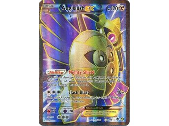 Aegislash EX - 65a/119 - Ultra Rare Full Art Promo