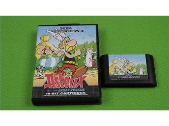 Asterix SVENSK UTGÅVA Sega Megadrive - Hägersten - Asterix SVENSK UTGÅVA Sega Megadrive - Hägersten